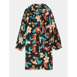 Floral Zara Raincoat
